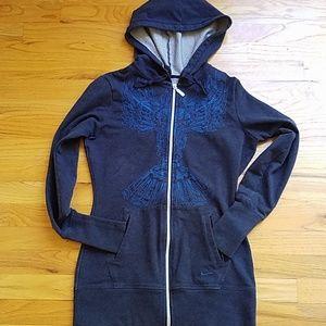 Nike Fit Dry full zip embroidered hoodie